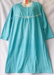 Ночные рубашки женские на байке БАТАЛ оптом 39721586 D93-36