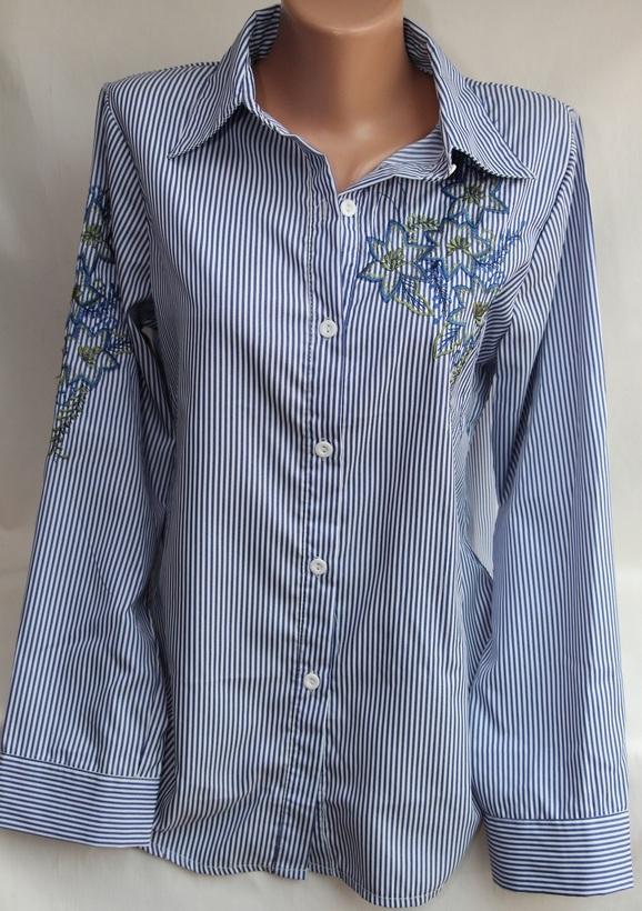 Рубашки женские оптом 17081056 18-2