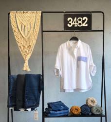 Рубашки женские оптом 41369027 01-9