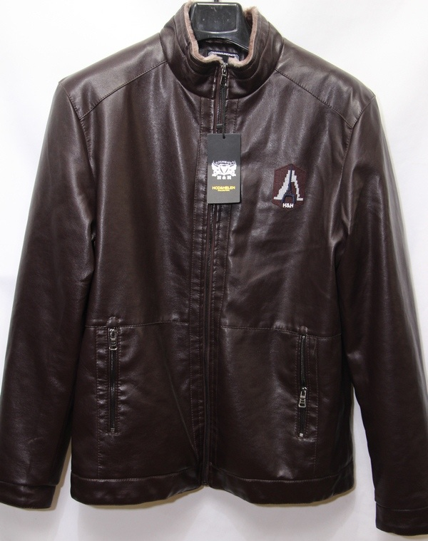 Куртки мужские коричневые оптом 17091052 А3-2