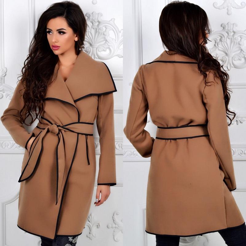 Пальто женские оптом  14105540 341-1-7