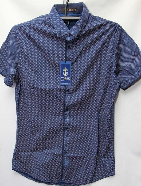 Рубашки мужские Турция оптом 2004523 3636-54