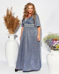 Платья женские БАТАЛ оптом 01263945  1300-1