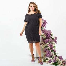 Платья женские БАТАЛ оптом 71984652  606-3