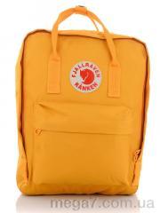 Рюкзак, Back pack оптом 1122-2 yellow