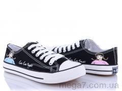Кеды, Class Shoes оптом 2228 черный