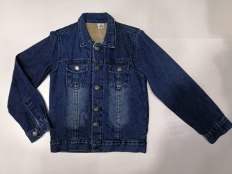 Куртки джинсовые подростковые TOMBIS оптом 08763951 7030 -4