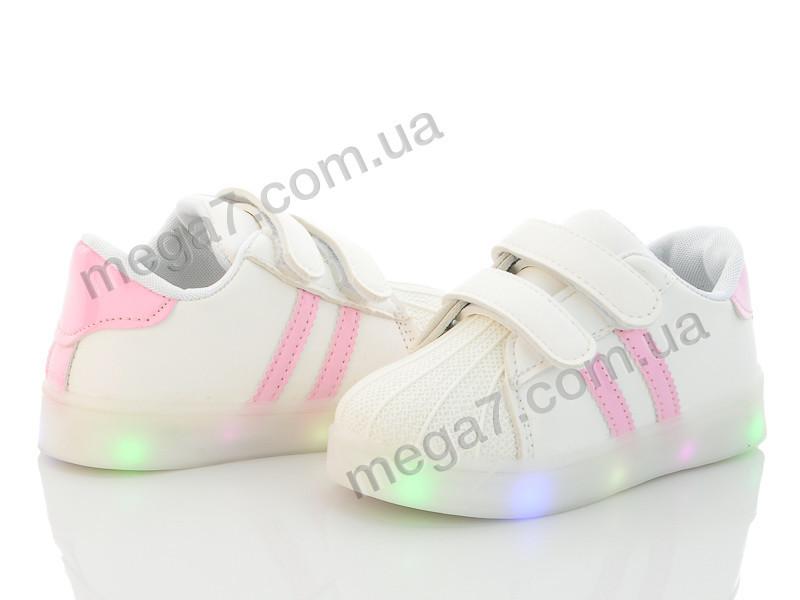 Кроссовки, Clibee-Doremi оптом N208 pink LED