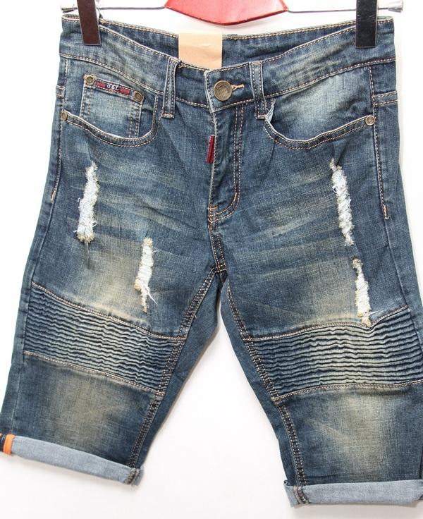 Шорты джинсовые мужские CELUKKIG LEVEN оптом 08061340 891