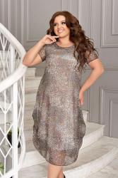 Платья женские БАТАЛ оптом 40376895 03-8