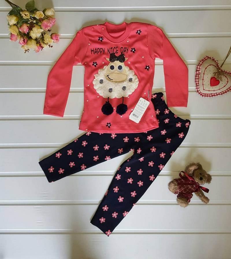 Ночные пижамы детские оптом 95731024 2-29