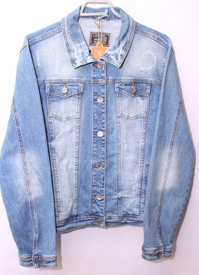 Куртки джинсовые женские  DIMONI оптом 38209471 1081