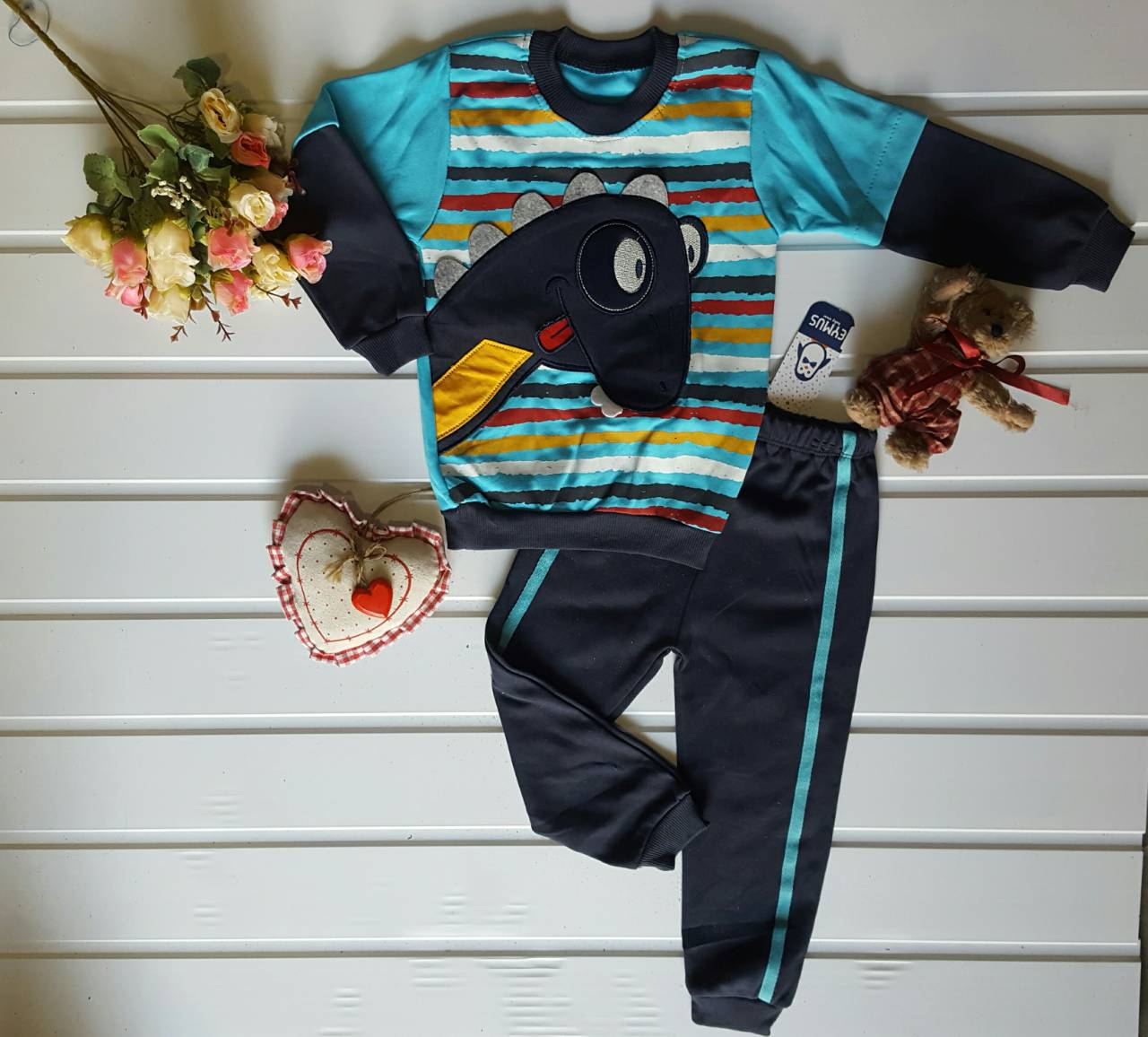 Ночные пижамы детские оптом 48027169 2-34