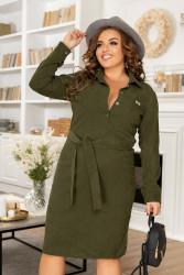 Платья женские БАТАЛ оптом 90618273   7093-3