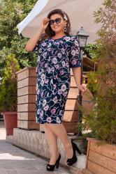 Платья женские БАТАЛ оптом 03691578  014-24