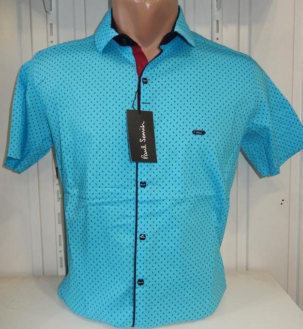 Рубашки мужские  оптом 22061830 1737-4