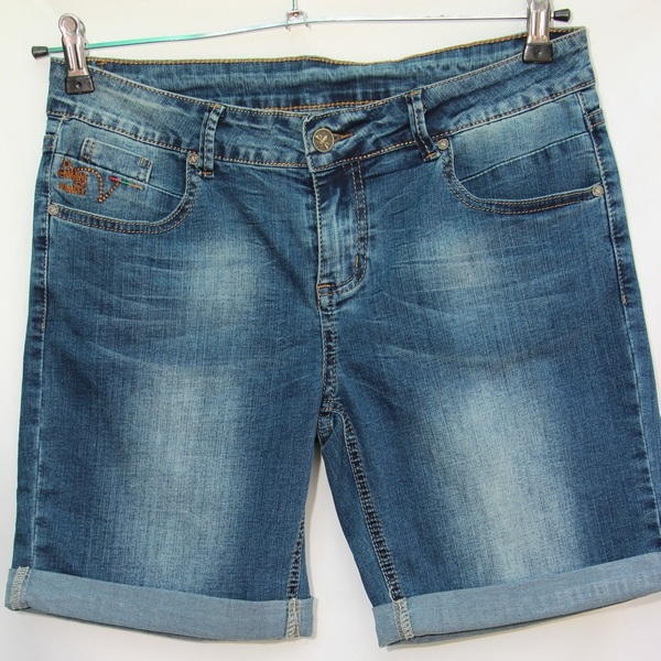 Шорты джинсовые женские NEW JEANS оптом 43106597 1327