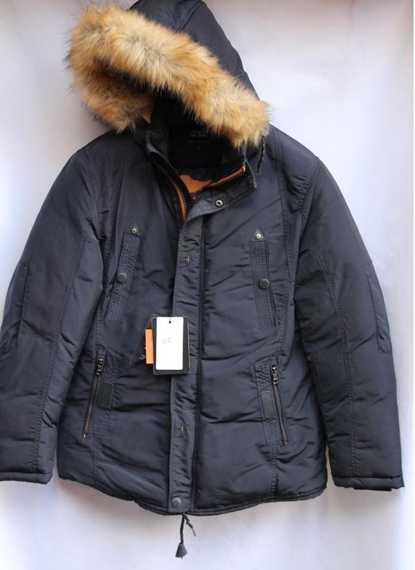 Куртка SOELUOS зимняя  мужская оптом 06124853 НТ1682-1