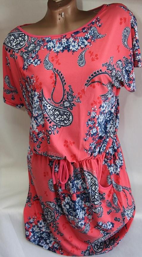 Платья женские Батал  оптом 2903765 8609-2