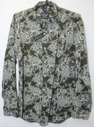 Рубашки мужские APEKS TRIKO оптом 39428015 11-221
