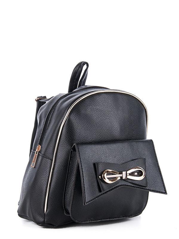 Рюкзаки DAVID POLO black оптом 17101605 34-1
