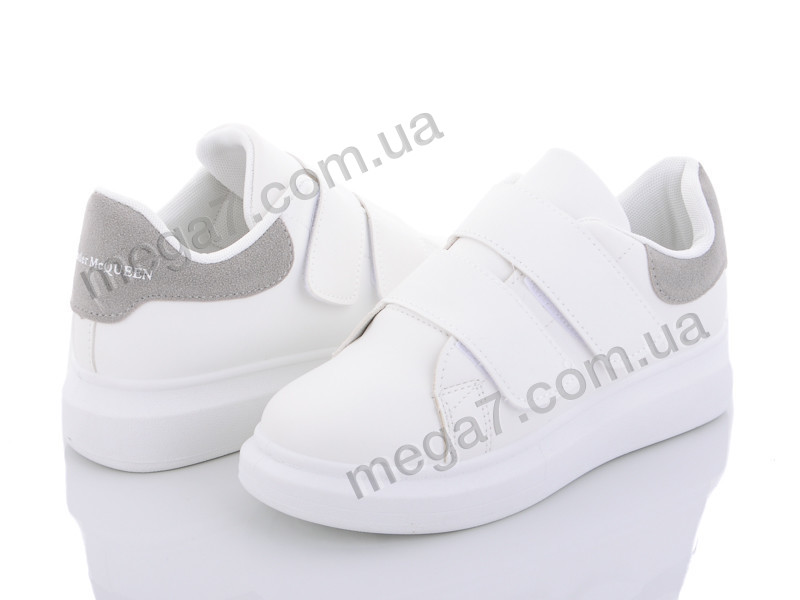 Кроссовки, Ailaifa оптом A18 white-grey