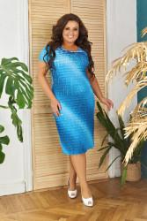 Платья женские БАТАЛ оптом 67098314  008-17