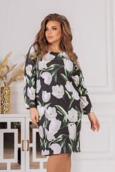 Платья женские БАТАЛ оптом 21649035  04-8