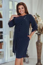 Платья женские БАТАЛ оптом 42037518 10 -3