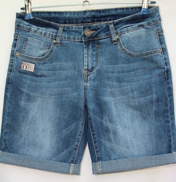 Шорты джинсовые женские NEW JEANS оптом 80649537 1321