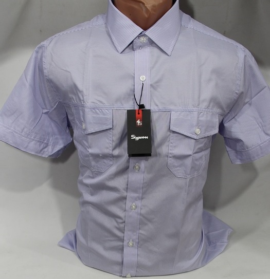 Рубашки мужские SIGMAN Китай оптом 54379128 5439