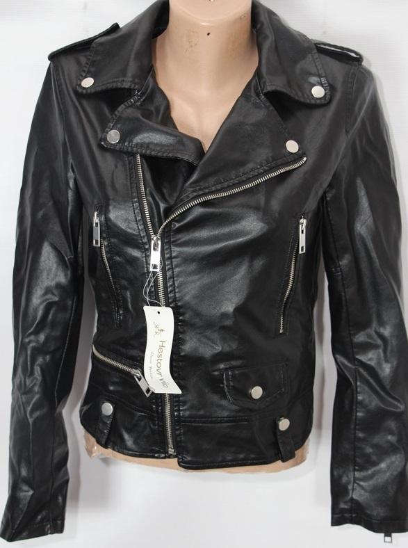 Куртки-косухи женские кожзам оптом 95172408 AW-020