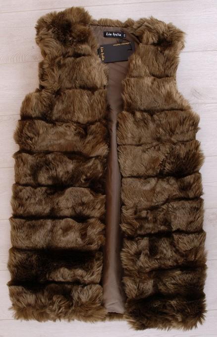 Жилетки женские меховые оптом 14702589 102-1
