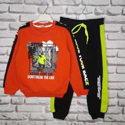 Спортивные костюмы детские с начесом оптом 04679132 3224 -6