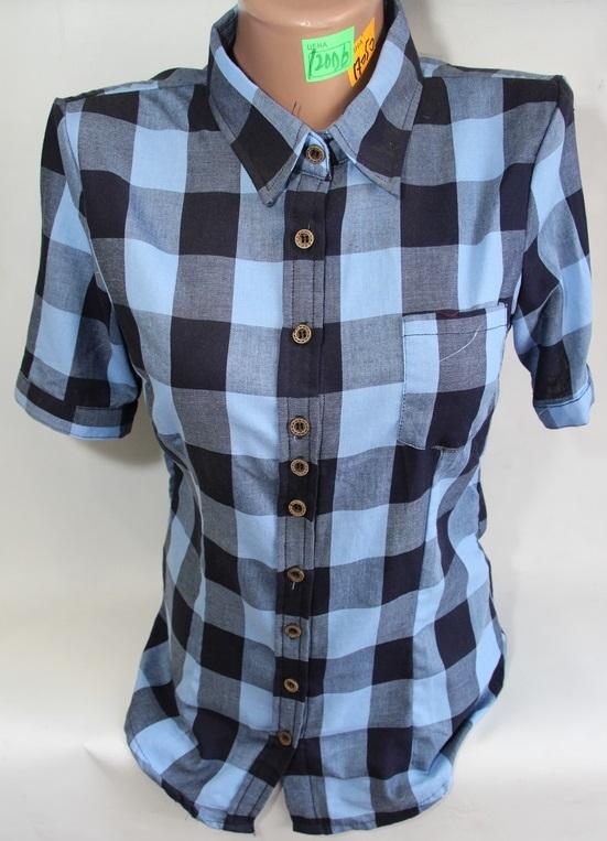 Рубашки женские QIANZHIDU Турция оптом 48526017 12006-53