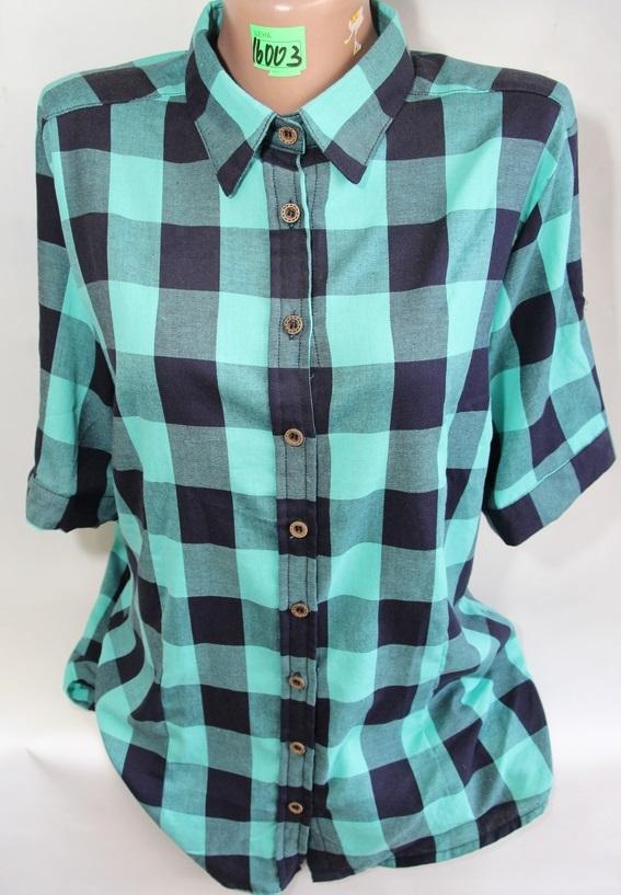 Рубашки женские QIANZHIDU Турция оптом 45829067 16003-49