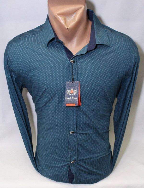 Рубашки PAUL STAR мужскиеТурция оптом 07216853