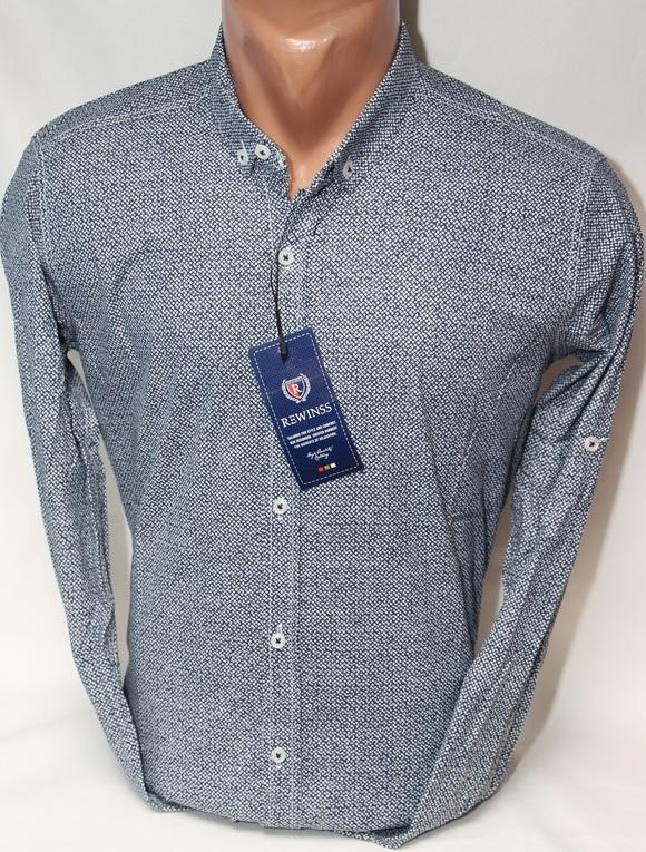 Рубашки мужские Турция оптом  09074721 01-78