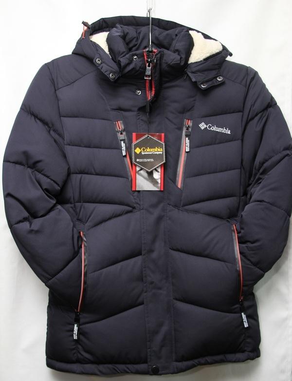 Куртки мужские тинсулейт зимние COLUMBIA  оптом 07081337 Y-10