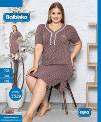 Ночные рубашки женские BALBINKA БАТАЛ оптом 31702948 1539-46
