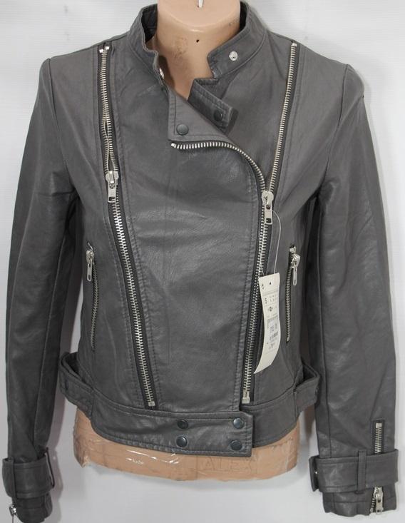 Куртки-косухи женские кожзам оптом 97512340 1705/2