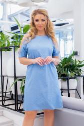Платья женские ПОЛУБАТАЛ  оптом 06897143 14-52