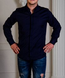 Рубашки мужские оптом 78021364 04  -18