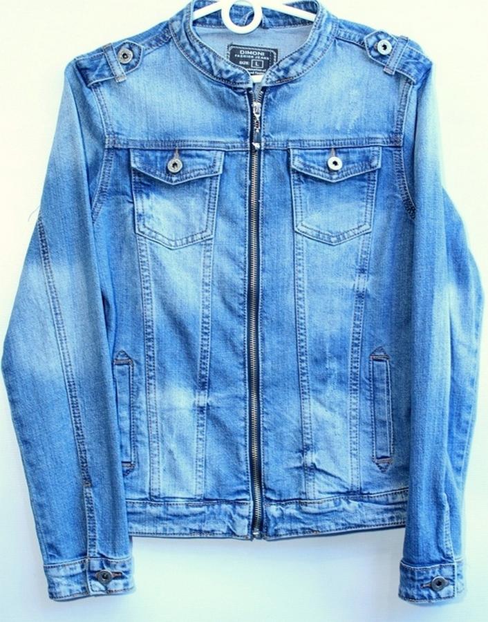 Куртки джинсовые женские DIMONI оптом 62058371 1090