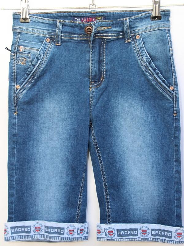 Шорты джинсовые детские оптом 74168023 077