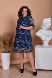 Платья женские БАТАЛ оптом 70634915  009-21