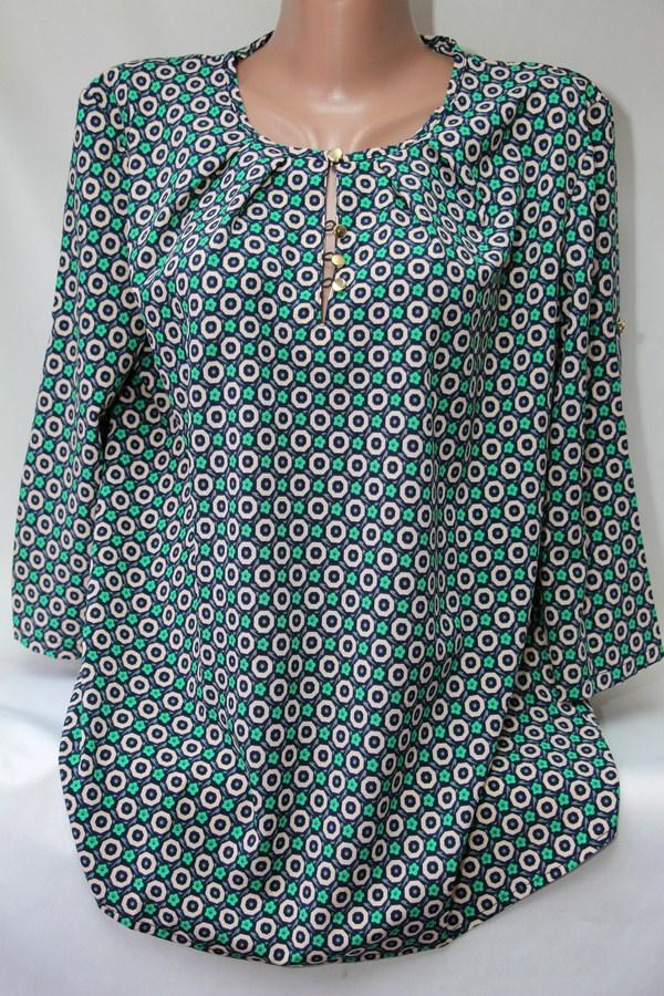 Блуза женская батал оптом  20033001 6099-60