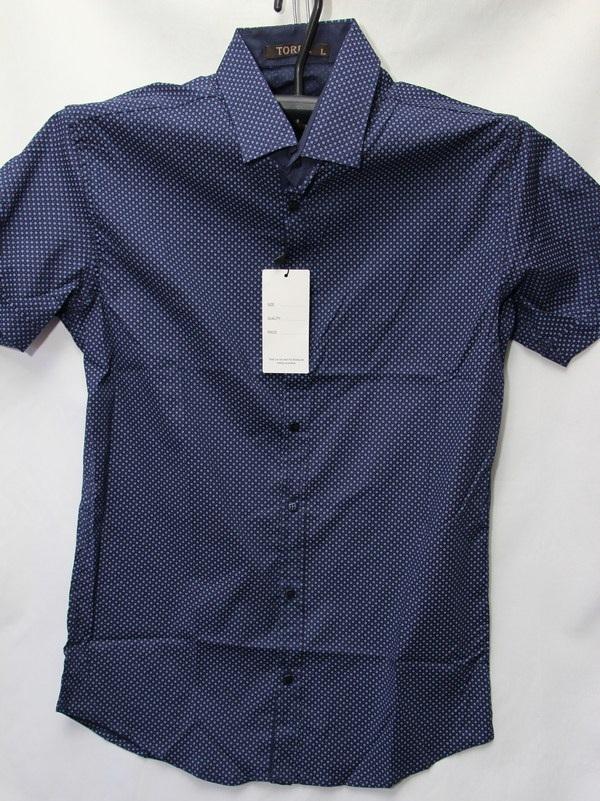 Рубашки мужские Турция оптом 67842105 3636-38