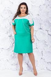 Платья женские БАТАЛ оптом 80594712 26-31