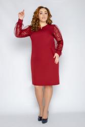 Платья женские БАТАЛ оптом 40318725   180468-1